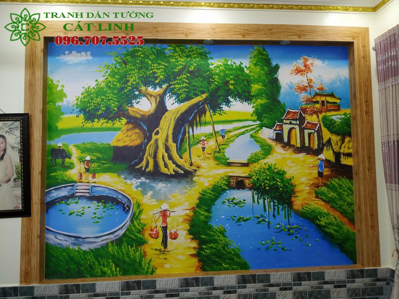 Tranh Đồng Quê Viêt Nam -21050