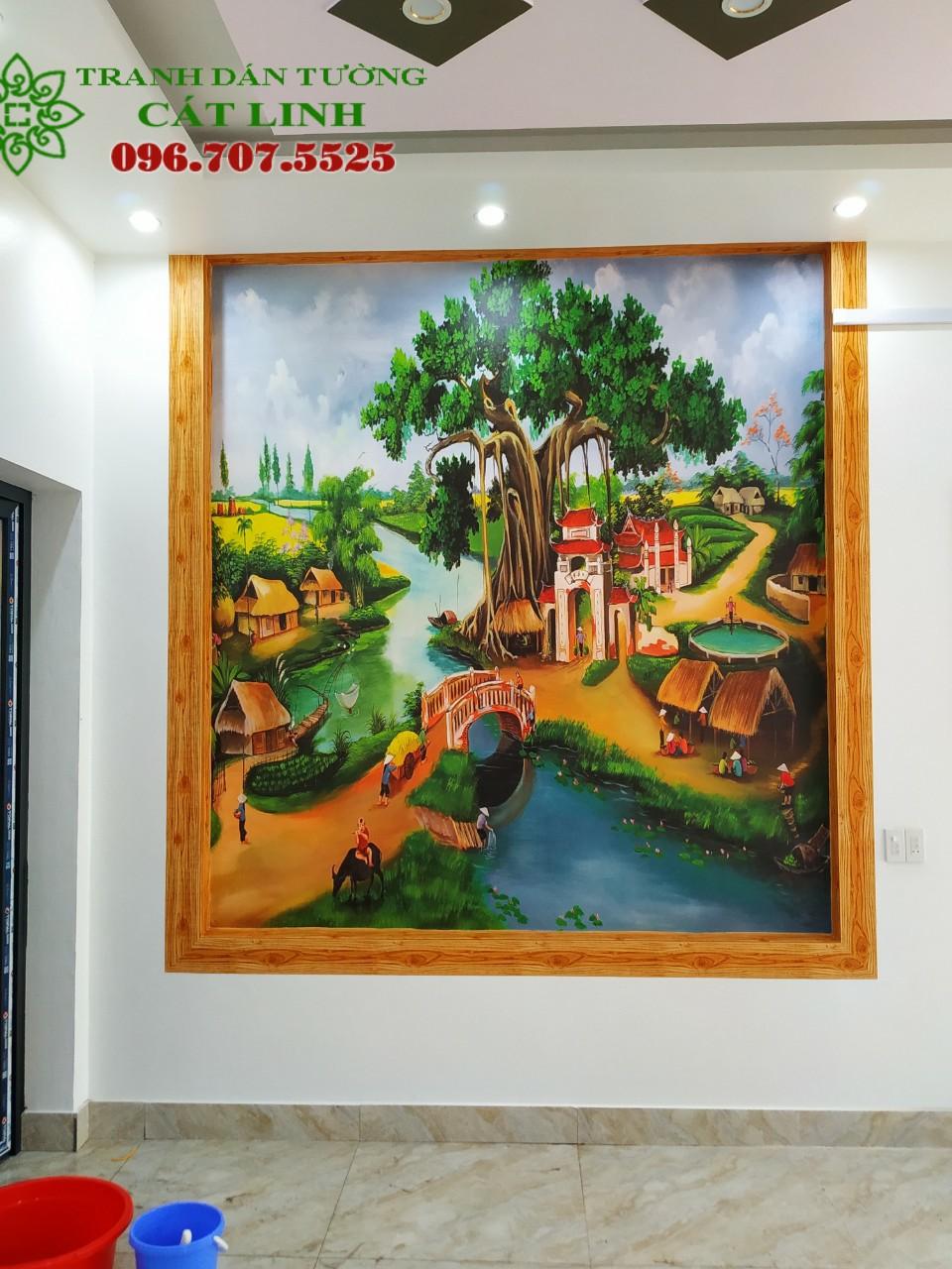 Tranh Đồng Quê Viêt Nam - 21052