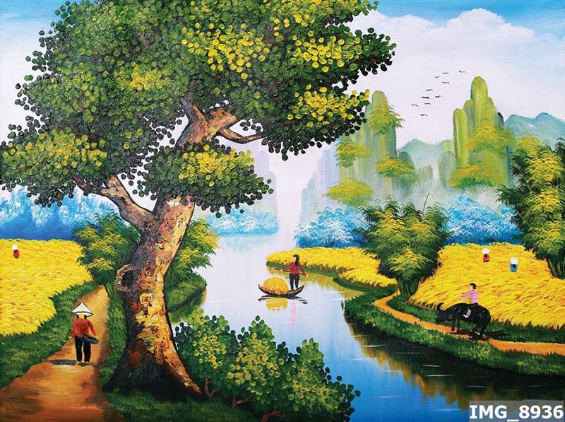 Tranh Đồng Quê - DQ570