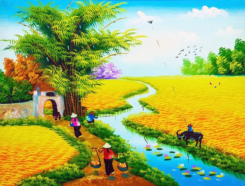 Tranh Đồng Quê - DQ568