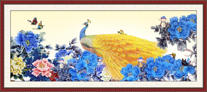 Tranh Rồng Phượng - CP67118