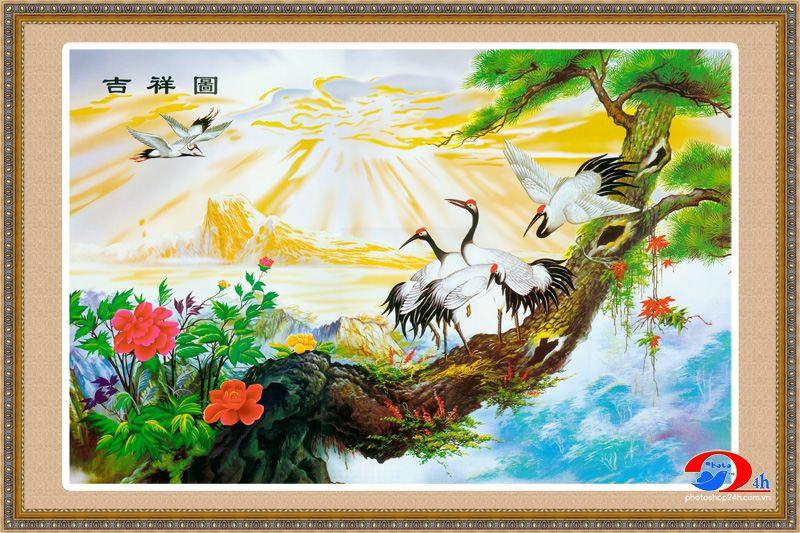 Tranh Dán Tường Sơn Thủy - ST975
