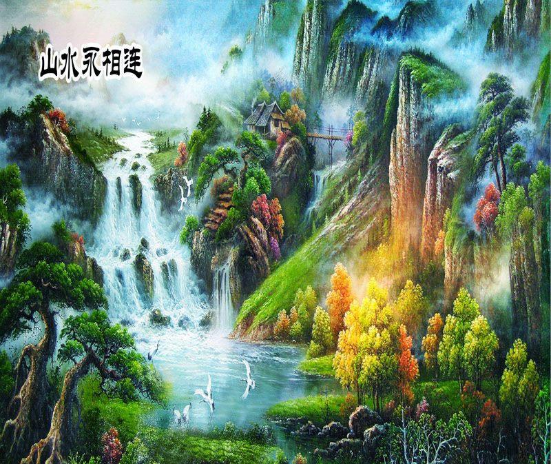Tranh Sơn Thủy - ST564