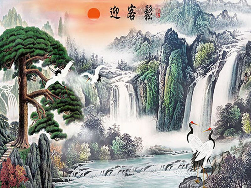 Tranh Sơn Thủy - ST5645