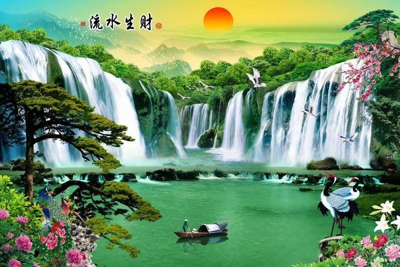 Tranh Sơn Thủy - ST30516