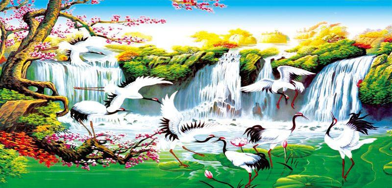 Tranh Sơn Thủy - ST5647