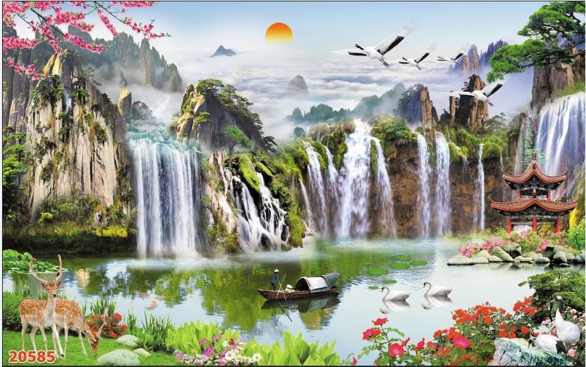 Tranh Sơn Thủy - ST150811