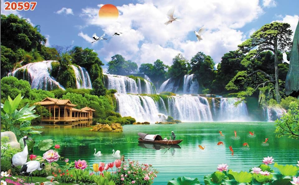 Tranh Sơn Thủy - ST150813