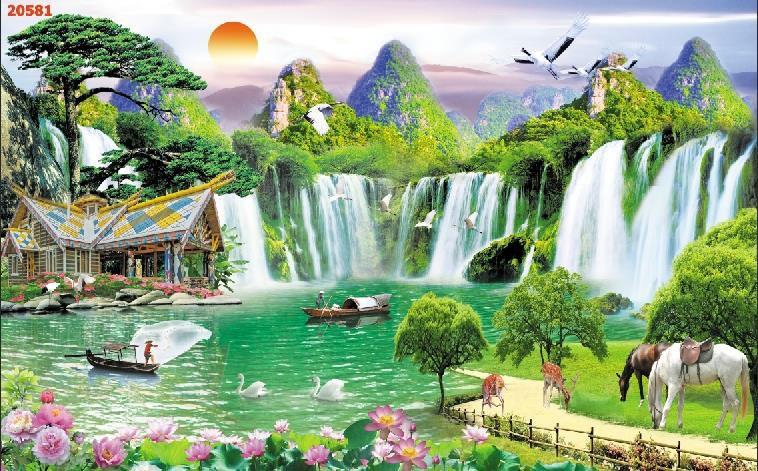 Tranh Sơn Thủy - ST150820