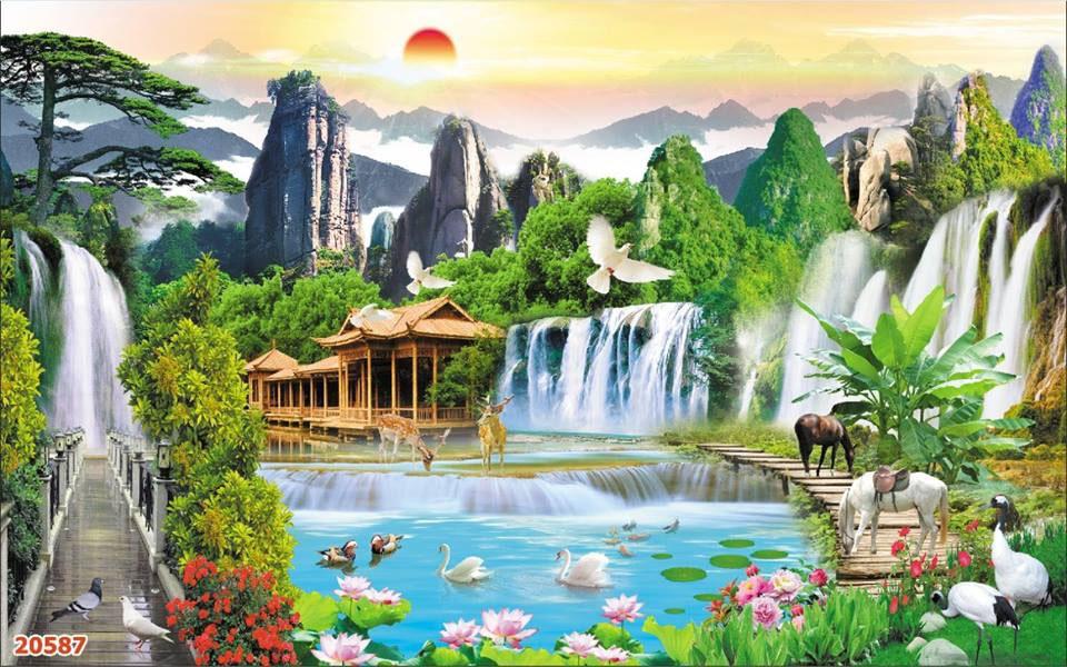 Tranh Sơn Thủy - ST15083
