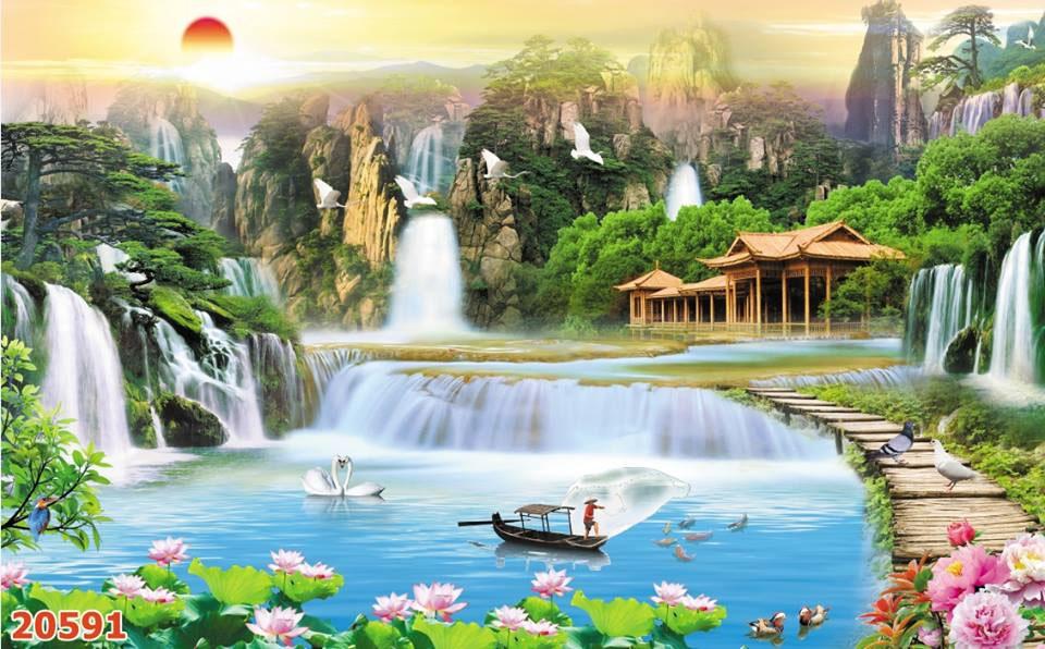 Tranh Sơn Thủy - ST150815