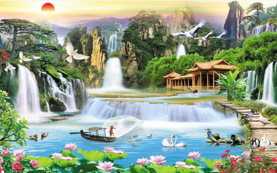 Tranh Sơn Thủy - ST15086