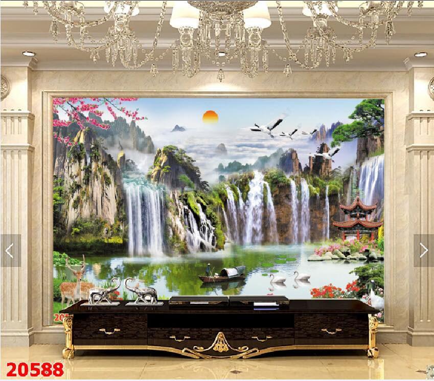 Tranh Sơn Thủy - ST15087
