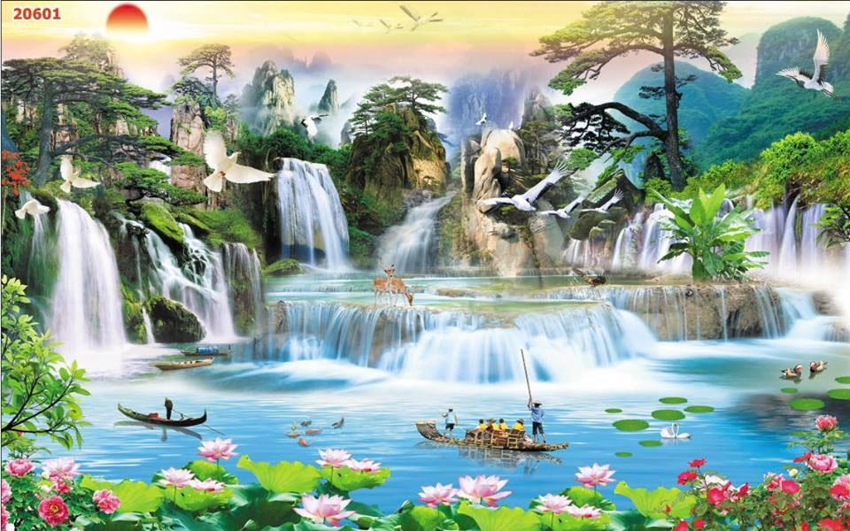 Tranh Sơn Thủy - ST15088