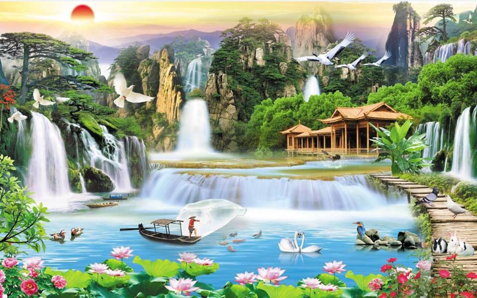 Tranh Sơn Thủy - ST15089