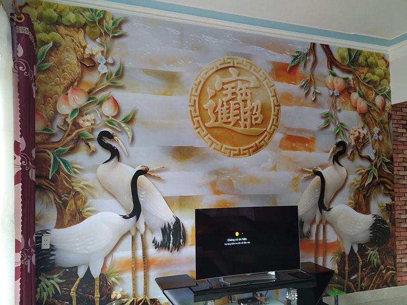 Tranh Dán Tường 3D Ngọc - TN15111
