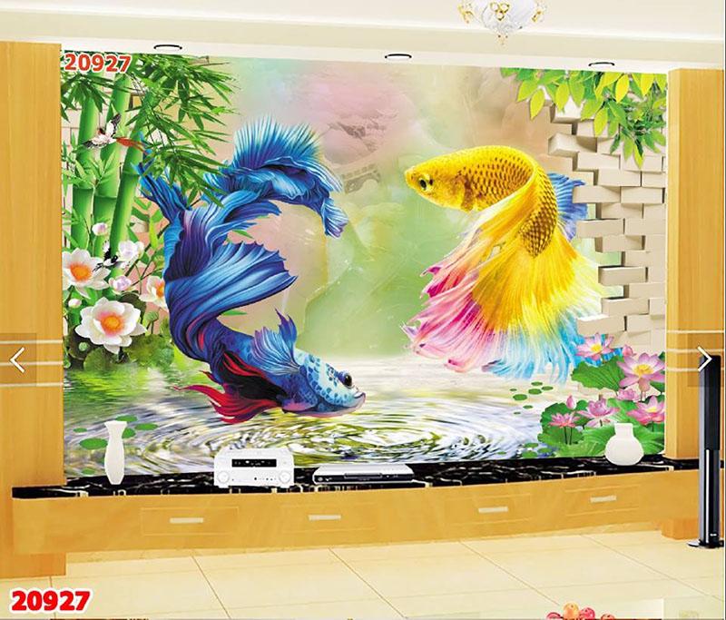 Tranh Cá 3D - TC24101