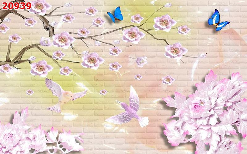Tranh Hoa 3D - TH 24104