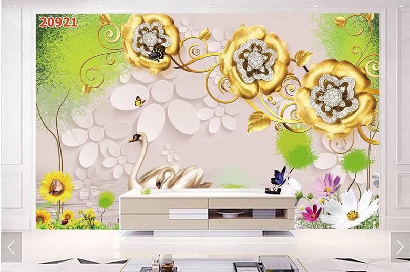 Tranh Hoa 3D - TH 24105