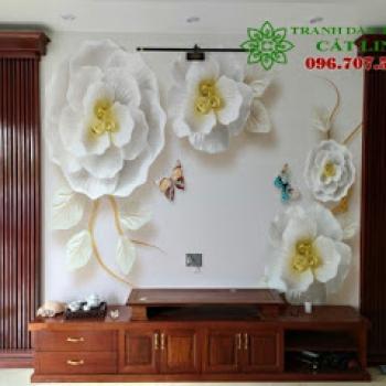 Tranh Hoa 3D tại Ecopark