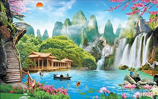 Tranh Sơn Thủy - 20525