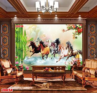 Tranh Bát Mã - 20634