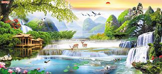 Tranh Sơn Thủy - 20655