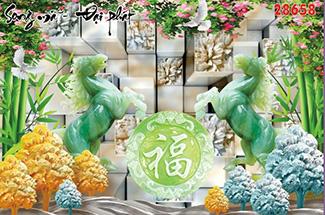 Tranh Bát Mã - 28658