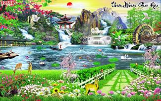 Tranh Sơn Thủy - 32556