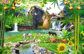 Tranh Sơn Thủy - 32583