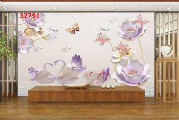 Tranh Hoa 3D - 32791