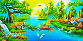 Tranh Đồng Quê - DQ5707