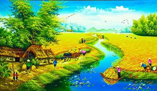 Tranh Đồng Quê - DQ5706