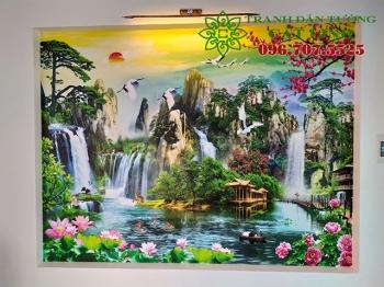 Tranh Thực Tế tại Hùng Thắng Bình Giang