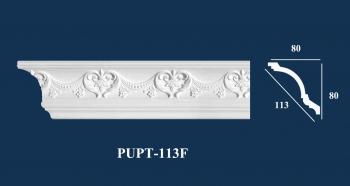 Phào Góc Trần PU Hoa Văn | PUPT-113F