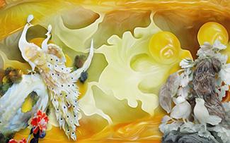Tranh Rồng Phượng - CP67109