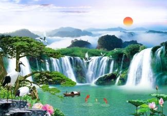 Tranh Sơn Thủy - 2636