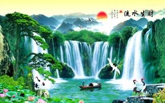 Tranh Sơn Thủy - 2637