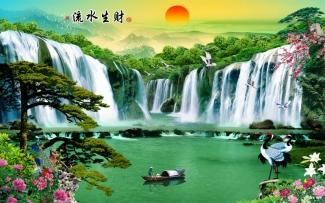 Tranh Sơn Thủy - 2639