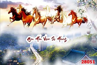 Tranh Bát Mã - 28051