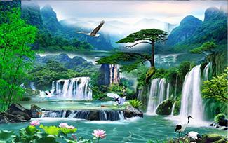 Tranh Sơn Thủy - 10491