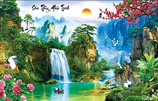 Tranh Sơn Thủy - 10529