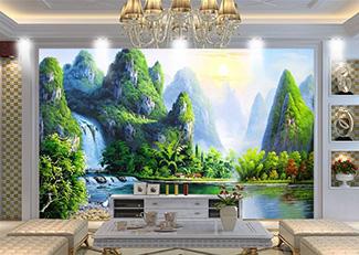 Tranh Sơn Thủy -11354