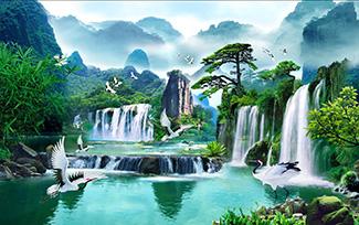 Tranh Sơn Thủy -11541