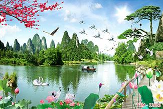 Tranh Sơn Thủy -11815