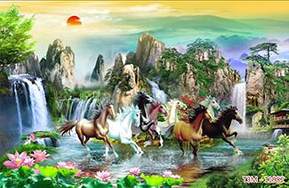 Tranh Bát Mã - 11982