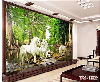 Tranh Bát Mã - 13322