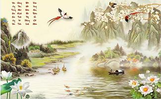 Tranh Sơn Thủy - ST150823