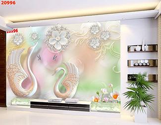 Tranh Hoa 3D - TH 24106