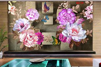 Tranh Hoa 3D - 28178